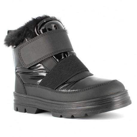 Dívčí zimní boty Primigi 6439400 Černá