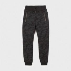 Kalhoty tepláky chlapecký Mayoral 7522-45 černá