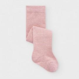 Dívčí hladké punčochy Mayoral 9296-25 Růžové