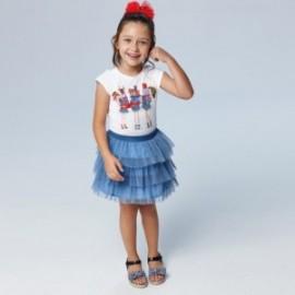 Sada s sukní pro dívky Mayoral 3961-23 modrá