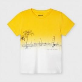 Chlapecké tričko Mayoral 3035-62 žluté