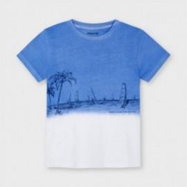Chlapecké tričko Mayoral 3035-63 modré