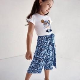 Culottes kalhoty pro dívku Mayoral 3553-54 Modrá