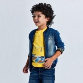 Tričko s krátkým rukávem pro chlapce Mayoral 3034-76 žluté