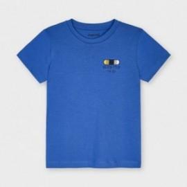 Tričko s krátkým rukávem pro chlapce Mayoral 3042-65 modré