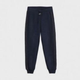 Kalhoty tepláky holčičí Mayoral 7541-77 Námořnická modrá