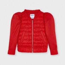 Dívčí větruvzdorná bunda Mayoral 3482-49 červená