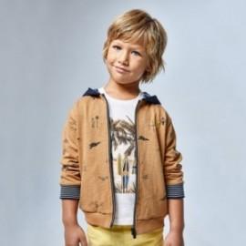 Tričko s krátkým rukávem pro chlapce Mayoral 3032-65 bílá