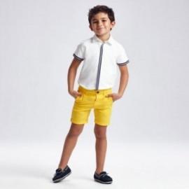 Bermudy pro chlapce Mayoral 202-45 žlutá