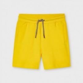 Bermudy pro chlapce Mayoral 611-41 žluté