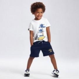 Sada se 2 tričky pro chlapce Mayoral 3639-73 námořnická modrá/žlutá