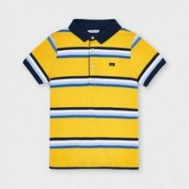 Chlapecké pruhované polo tričko Mayoral 3111-93 žluté