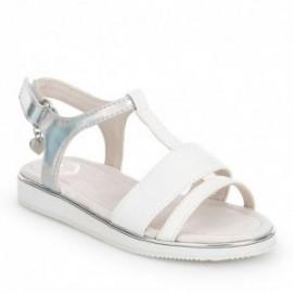 Mayoral 43653-57 Sandały moda kolor biały