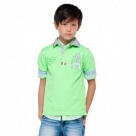 Mayoral 6106-29 Koszulka polo k/r gładka kolor Papuga