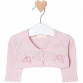 Mayoral 1316-57 Sweter rozp.dzian. kwiatki kolor Różowy