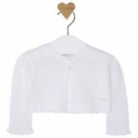 Mayoral 1314-62 Sweter rozp.dzian. ażur. kolor Biały
