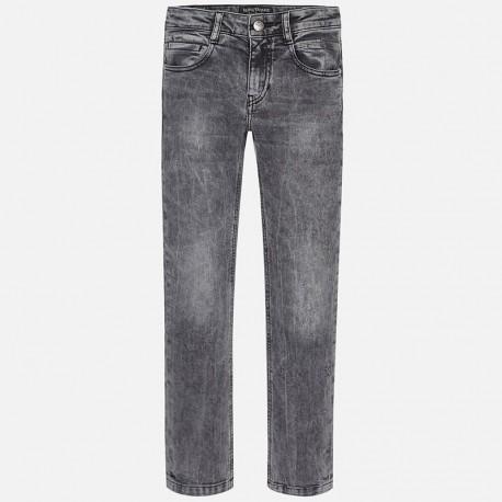 Mayoral 7520-35 Spodnie jeans slim fit fantaz kolor Szary