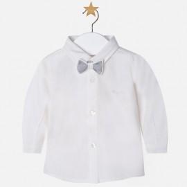 Mayoral 2102-79 koszula z muszką kolor Kremowy