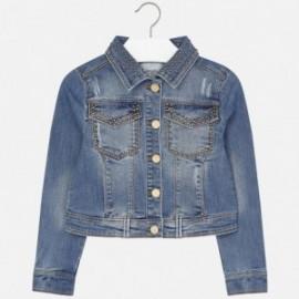 Mayoral 6457-5 Kurtka jeans ćwieki kolor Jeans