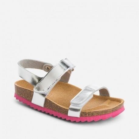 Mayoral 43793-71 sandály stříbrná barva