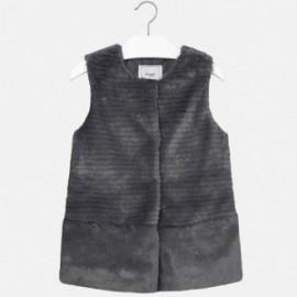 Mayoral 7446-21 vesta z kožešina představivost barva šedá