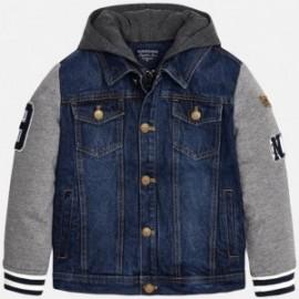 Mayoral 7456-5 bunda džíny z švy barva džíny