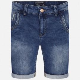 Mayoral 6259-50 Bermudy jeans kolor Ciemny