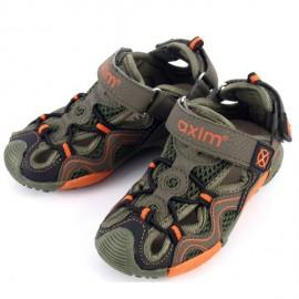 Sandały chłopięce AXIM 1292 khaki