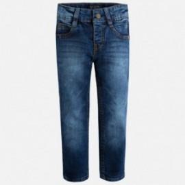 Mayoral 40-42 kalhoty pravidelné fit jeans Základní barva