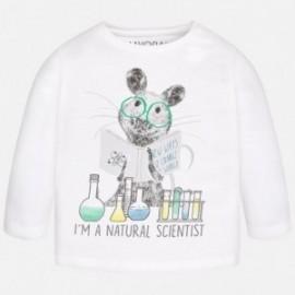 "Mayoral 2033-46 tričko ""Scientist"" barva bílá"