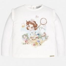 Mayoral 2049-85 tričko barva Krém-tyrkysová
