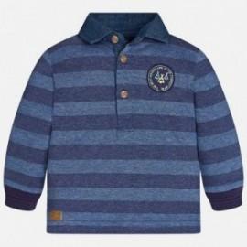 Mayoral 2125-41 tričko pólo pruhované barva džínovina