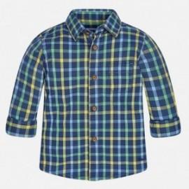 Mayoral 2151-17 košile mřížka barva modrý tmavý