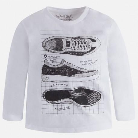 Mayoral 4023-25 tričko tenisky barva bílá