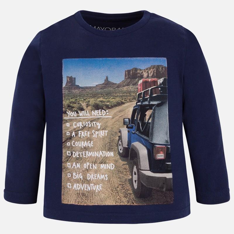 Mayoral 4035-37 tričko cesta barva tmavý modrý ef4b0e7546