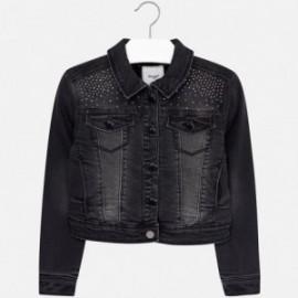 Mayoral 7467-22 bunda džíny drátěnky barva černá