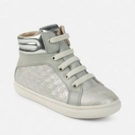 Mayoral 44749-34 boty sportovní barva stříbro