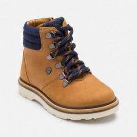 Mayoral 46781-72 boty horský kůže barva velbloud