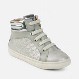 Mayoral 46749-34 boty sportovní barva stříbro