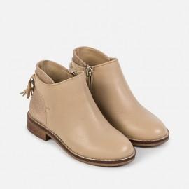 Mayoral 46721-67 boty kůže barva písek