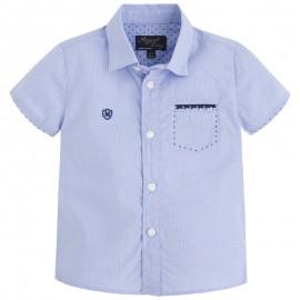 Mayoral 1154-85 Koszula krót. ręk. detale kolor Lawendowy