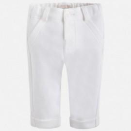 Mayoral 2525-40 kalhoty dlouho barva krém