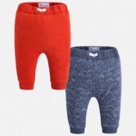 Mayoral 2529-34 sada dva páry kalhoty barva hlína