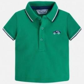 Mayoral 190-66 tričko pólo štika basic barva zelená