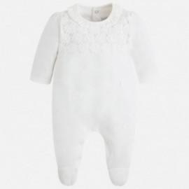 Mayoral 1735-24 pyžama dlouho barva smetanový