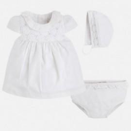 Mayoral 1807-20 šaty víčko barva bílá