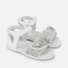 Mayoral 41776-56 sandály suchý zip barva bílá