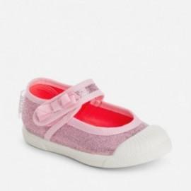 Mayoral 41782-40 boty kovový barva růžový