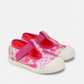 Mayoral 41784-46 boty květiny barva fuchsie