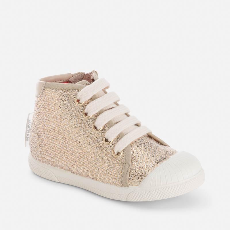 Mayoral 41786-49 boty kovový barva zlato